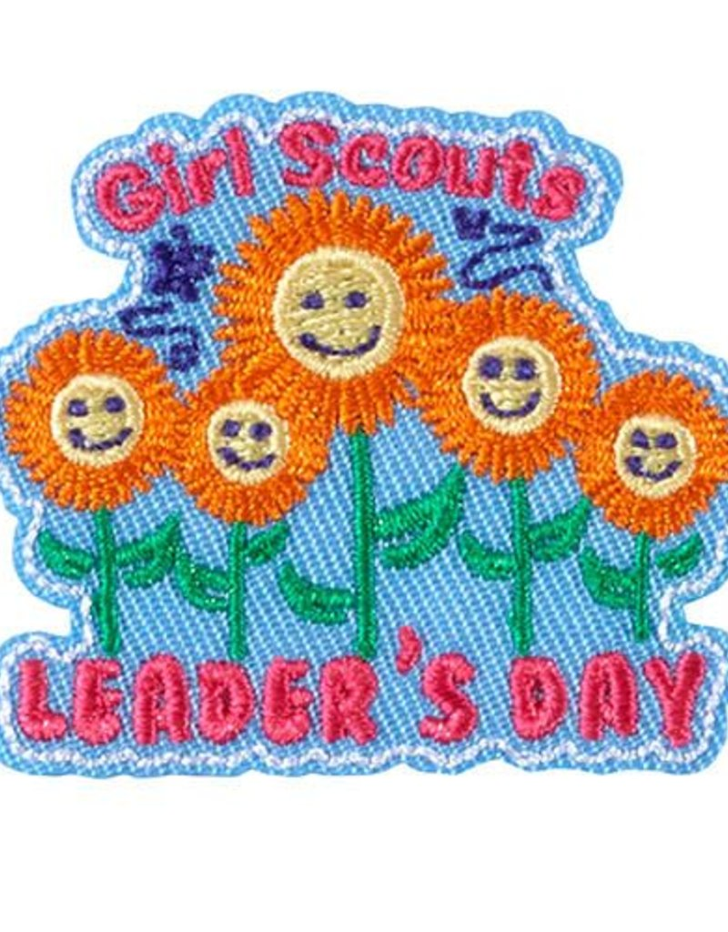 GIRL SCOUTS OF THE USA Leader's Day Fun Patch