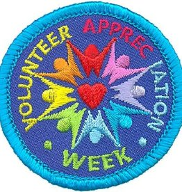 Advantage Emblem & Screen Prnt Volunteer Appreciation Week Fun Patch