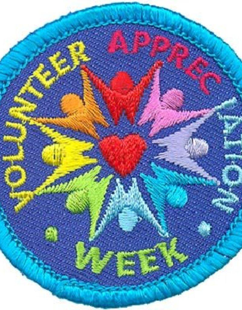 Advantage Emblem & Screen Prnt Volunteer Appreciation Week Fun Patch