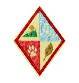 GIRL SCOUTS OF THE USA Cadette Eco Trekker Badge
