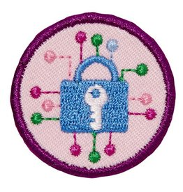 GIRL SCOUTS OF THE USA Junior Cybersecurity Investigator Badge