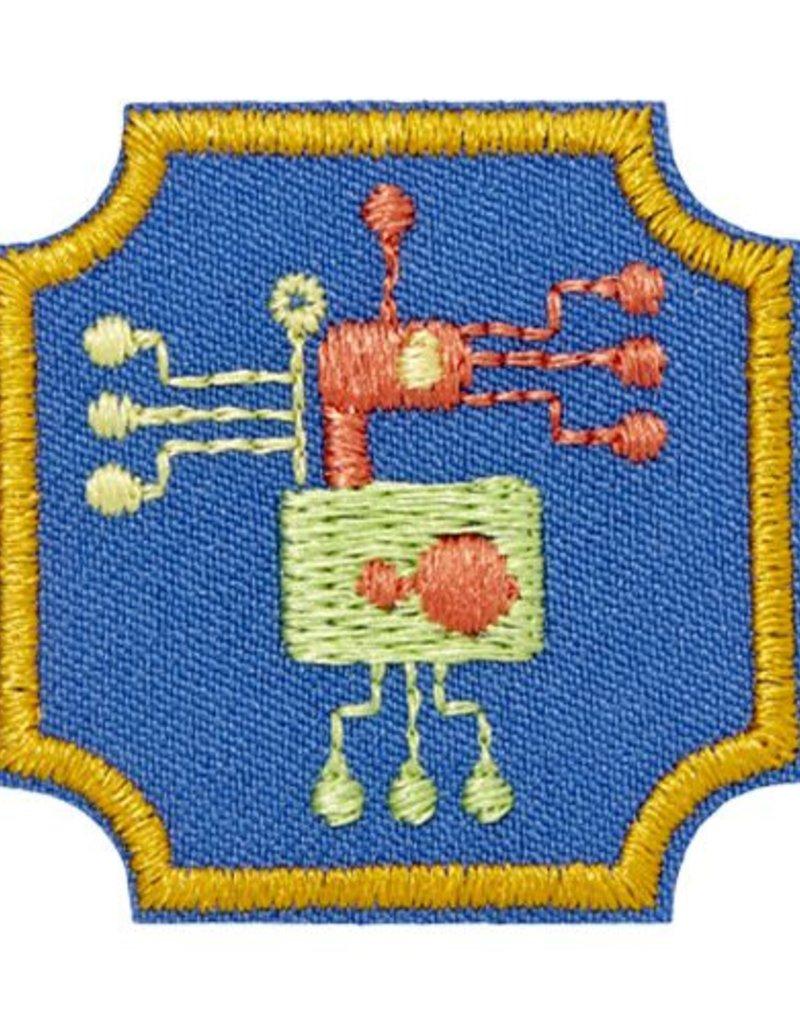 GIRL SCOUTS OF THE USA Ambassador Programming Robots Badge