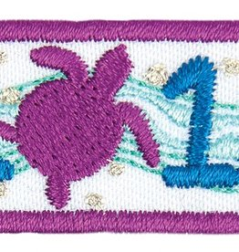 LITTLE BROWNIE BAKER 2018 Turtle Year Bar Patch