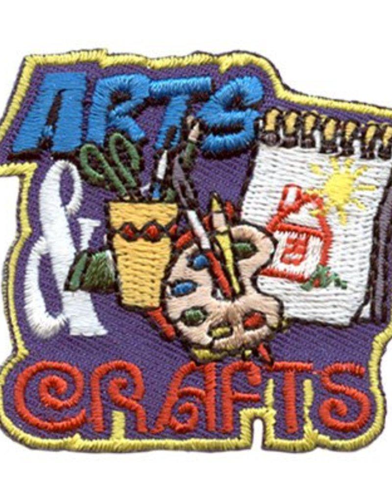Advantage Emblem & Screen Prnt Arts & Crafts Fun Patch
