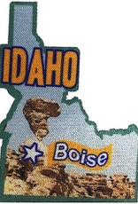 Advantage Emblem & Screen Prnt State of Idaho Printed Fun Patch