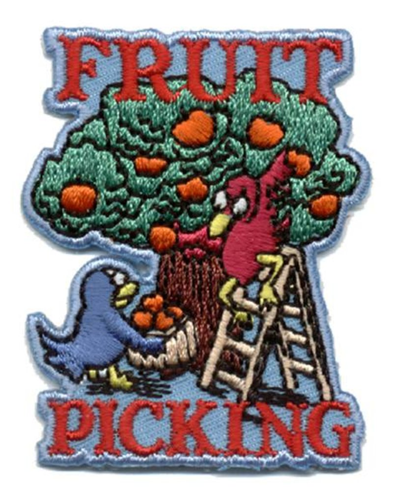 Advantage Emblem & Screen Prnt Fruit Picking Fun Patch