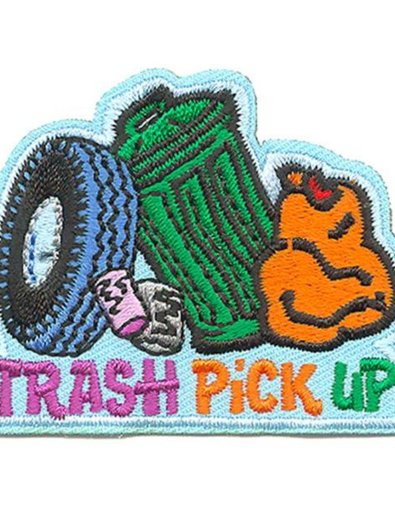 Trash Pick Up Fun Patch