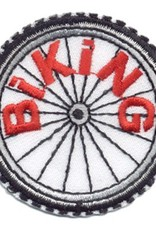 Advantage Emblem & Screen Prnt Biking Bicycle Wheel Fun Patch