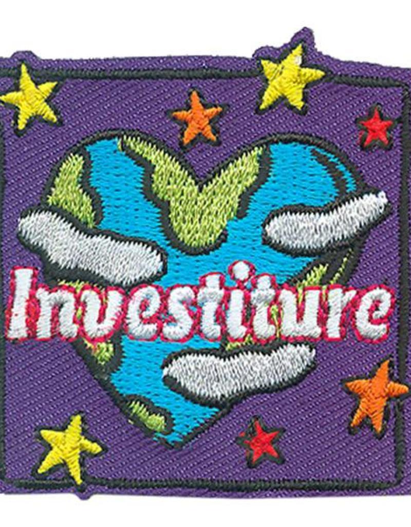 Advantage Emblem & Screen Prnt Investiture Earth Heart Fun Patch