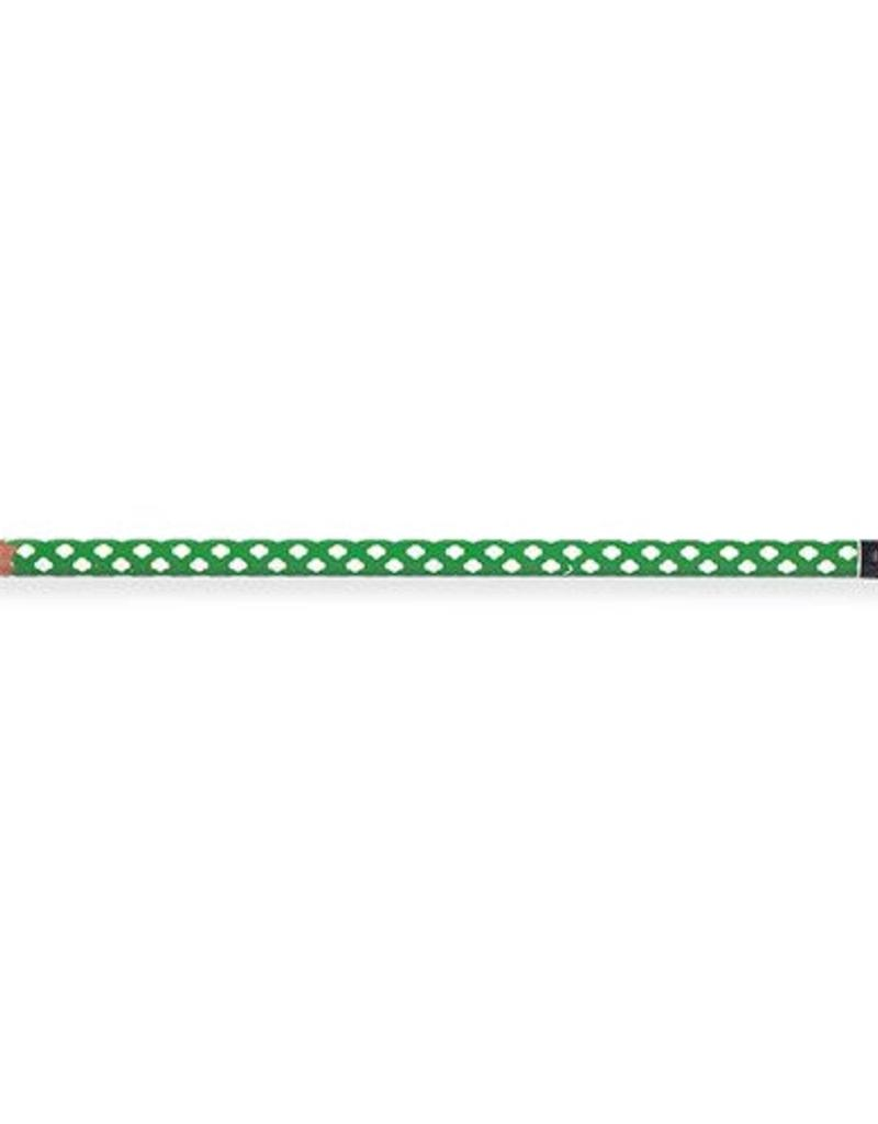 GIRL SCOUTS OF THE USA Green w/ White Trefoils Pencil