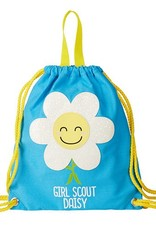 GIRL SCOUTS OF THE USA Daisy Mini Drawstring Bag Backpack