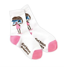 GIRL SCOUTS OF THE USA Brownie Crew Sock Elf