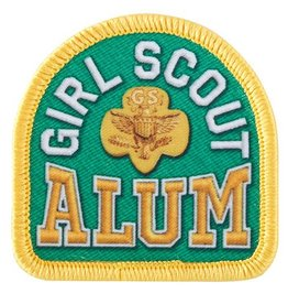 GIRL SCOUTS OF THE USA Girl Scout Alum Sew-On Fun Patch