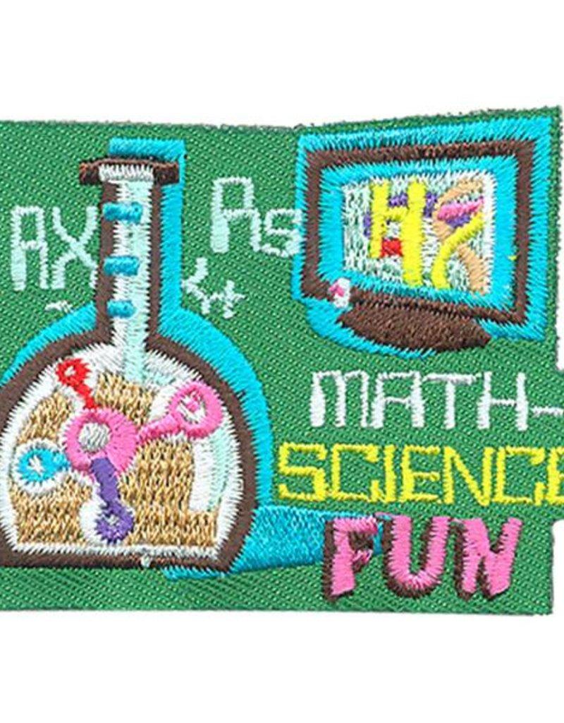 Advantage Emblem & Screen Prnt Math Science Fun Fun Patch