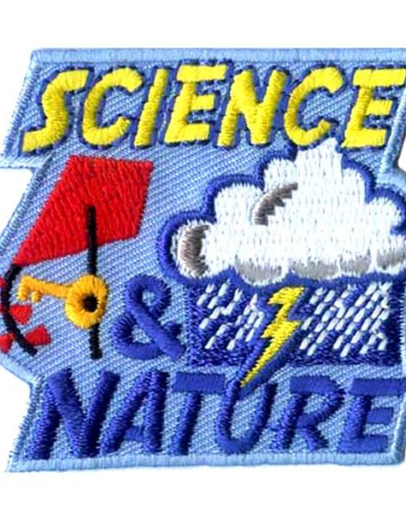 Advantage Emblem & Screen Prnt Science & Nature Weather Fun Patch