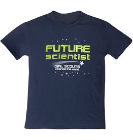 GIRL SCOUTS OF THE USA Future Scientist Tee Shirt
