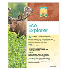 GIRL SCOUTS OF THE USA Senior Eco Explorer Badge Requirements