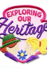 Exploring Our Heritage Fun Patch