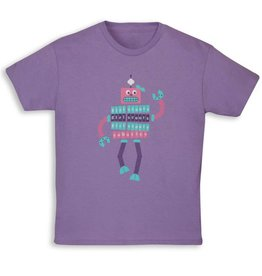 GIRL SCOUTS OF THE USA Purple Robotics T-Shirt