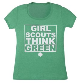 GIRL SCOUTS OF THE USA Girl Scouts Think Green T-Shirt