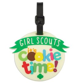 GIRL SCOUTS OF THE USA Cookie Time Luggage Tag