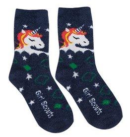 Cozy Unicorn Crew Sock