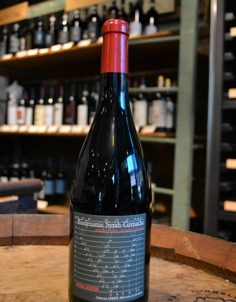Chateau Maris Natural Selection Biodynamic Syrah-Grenache 2015