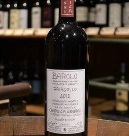 Giovanni Canonica Barolo Paiagallo 2012