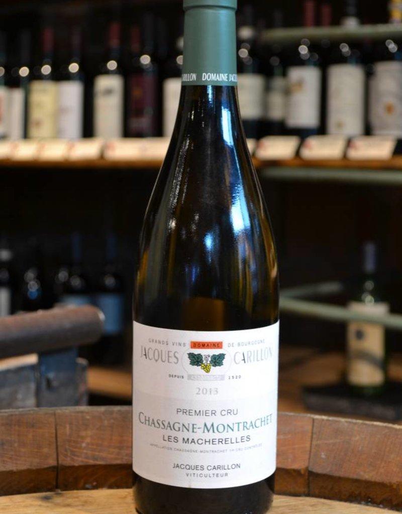 Jacques Carillon Chassagne Montrachet 1er Cru Les Macherelles 2013