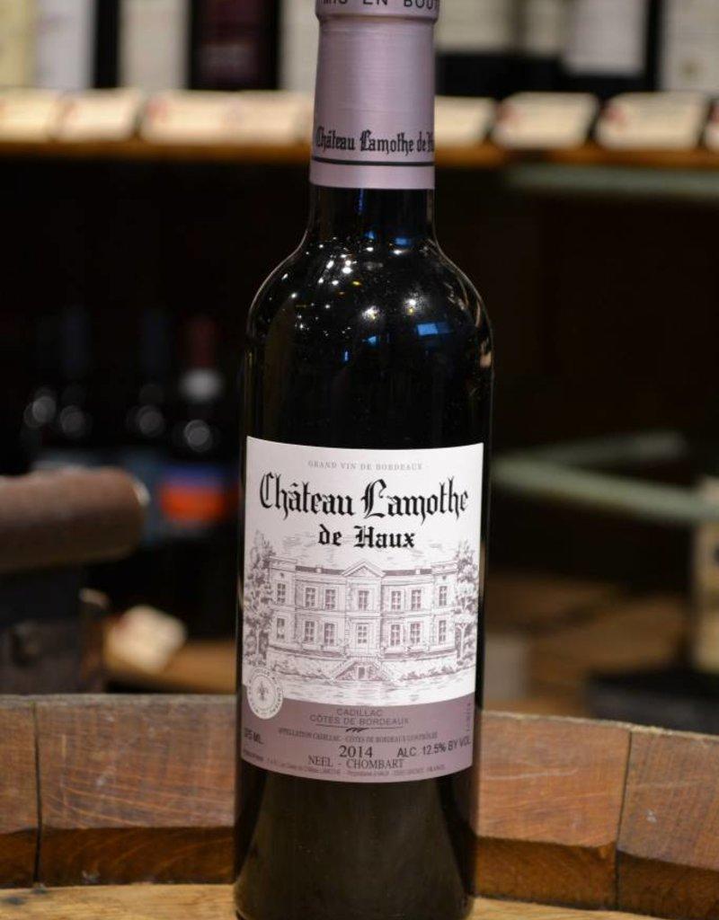 Chateau Lamothe de Haux Cadillac Cotes de Bordeaux Rouge 2014 375ml