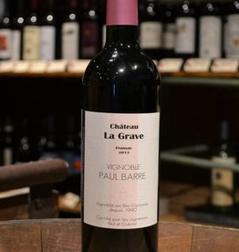 Vignobles Paul Barre Chateau La Grave Fronsac 2013