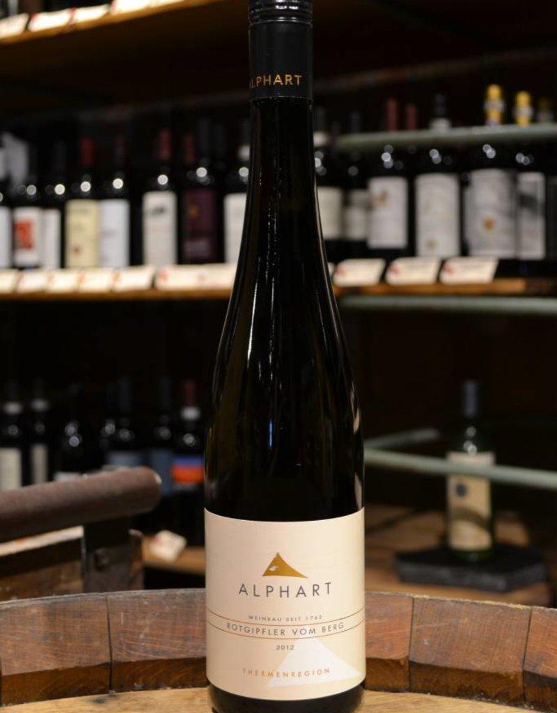 Weingut K. Alphart Vom Berg Rotgipfler 2012