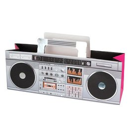 Retro Black Boombox Bag
