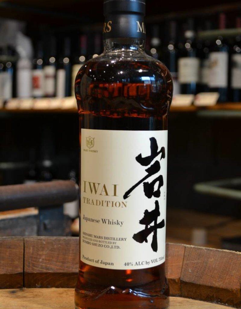 Shinshu Mars Distillery Iwai Tradition Japanese Whisky