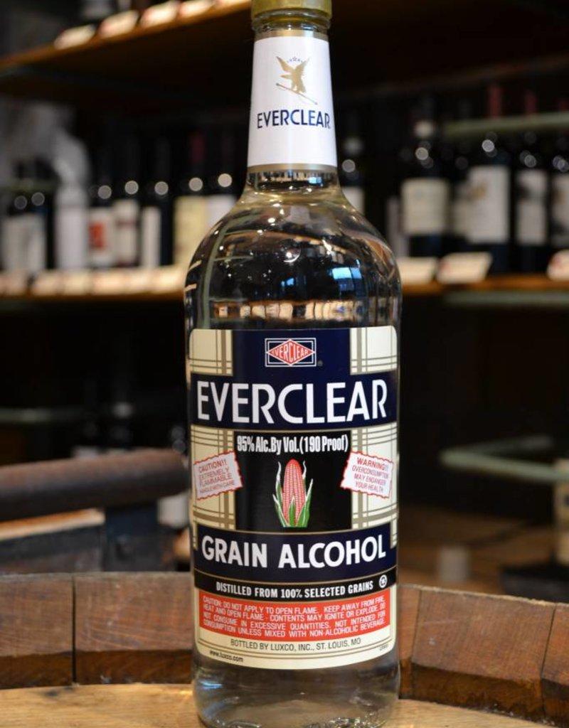 Everclear Grain Alcohol 1 Liter