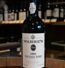 Warres 1991 Vintage Port