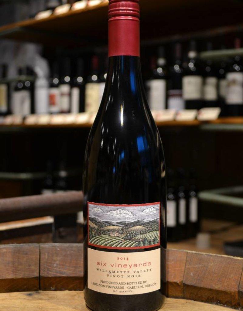 Lemelson Six Vineyards Willamette Valley Pinot Noir 2014