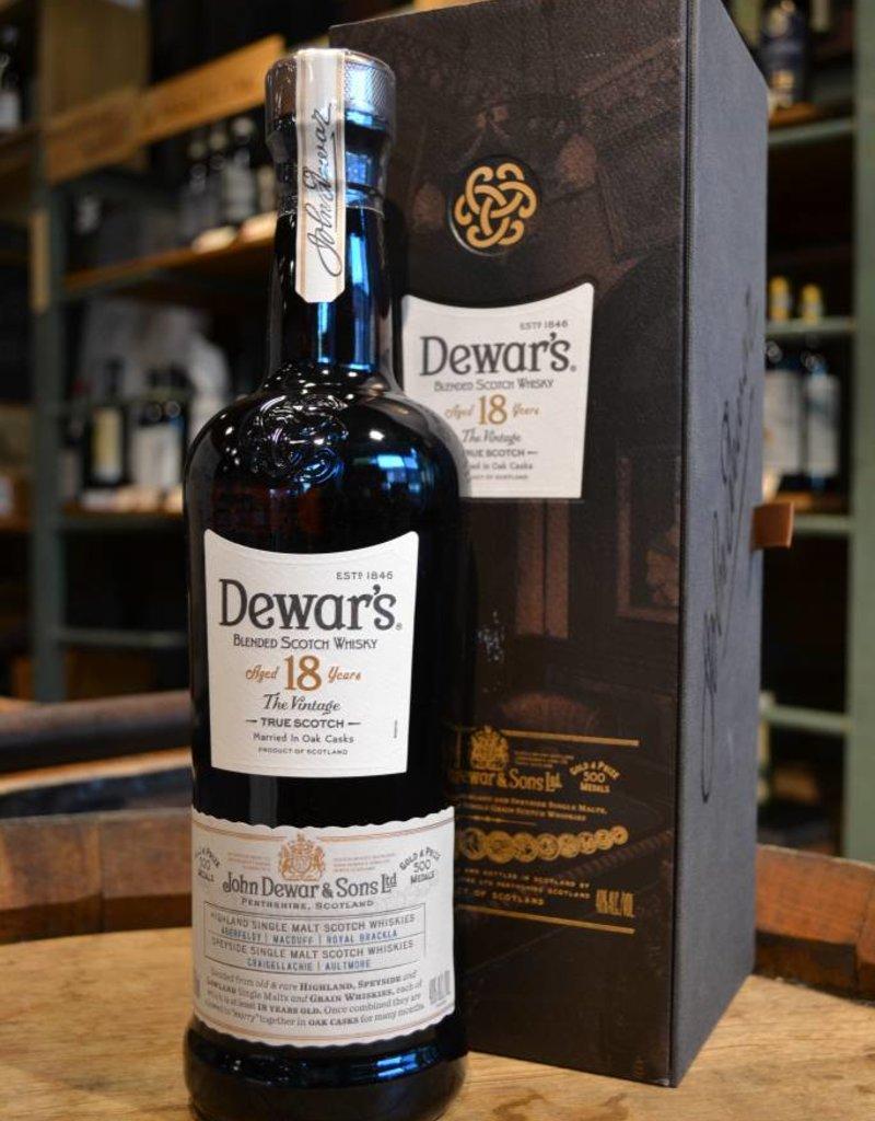 Dewars Scotch 18 Years Old