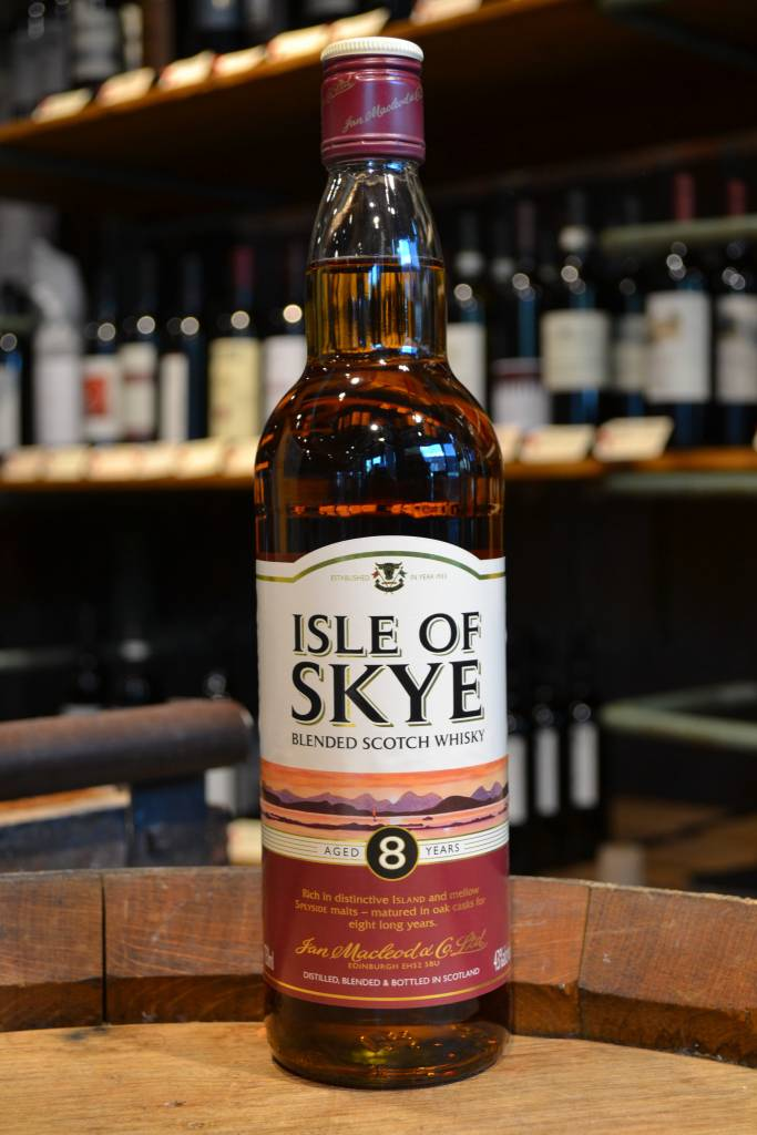 Isle of Skye 8 year Scotch