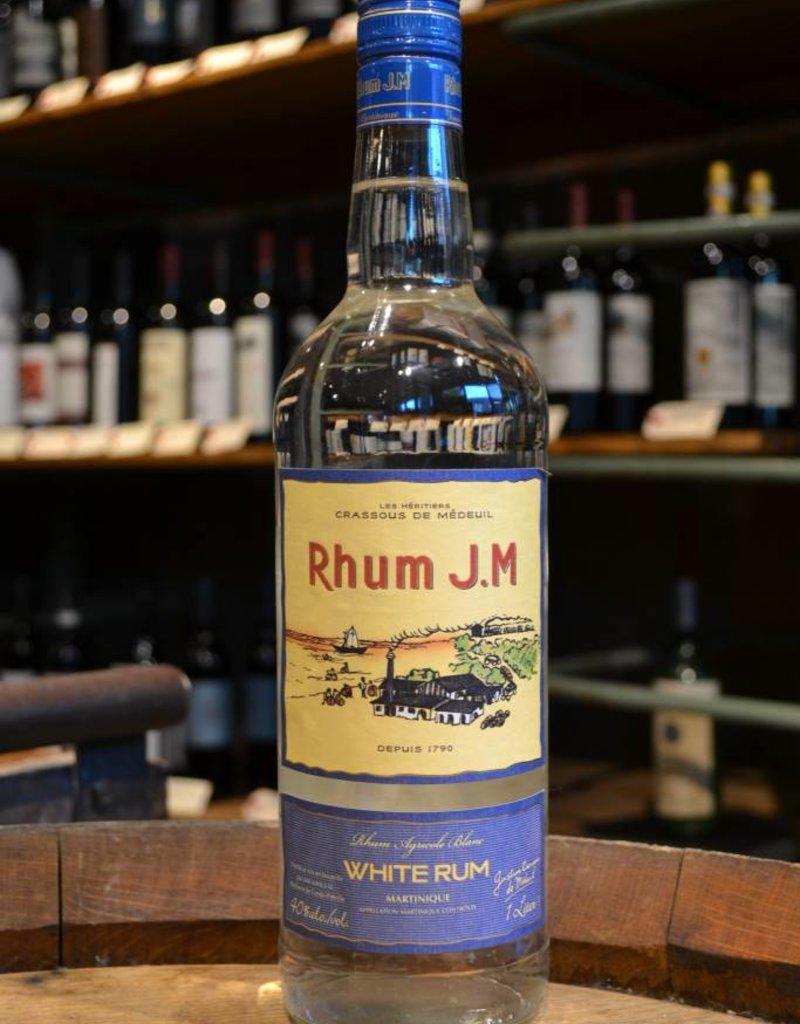 Rhum JM Blanc Martinique White Rum 80 Proof 1 LITER
