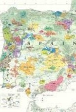 Spain & Portugal Wine Map
