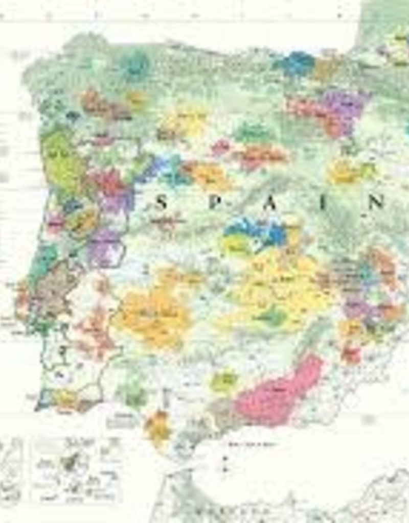 Spain & Portugal Wine Map