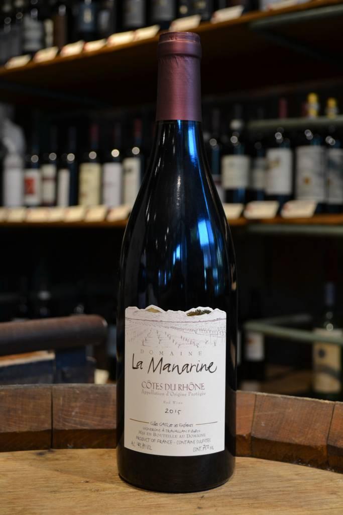 Domaine La Manarine Cotes Du Rhone 2015