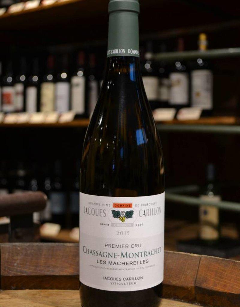 Jacques Carillon Chassagne Montrachet 1er Cru Les Macherelles 2015
