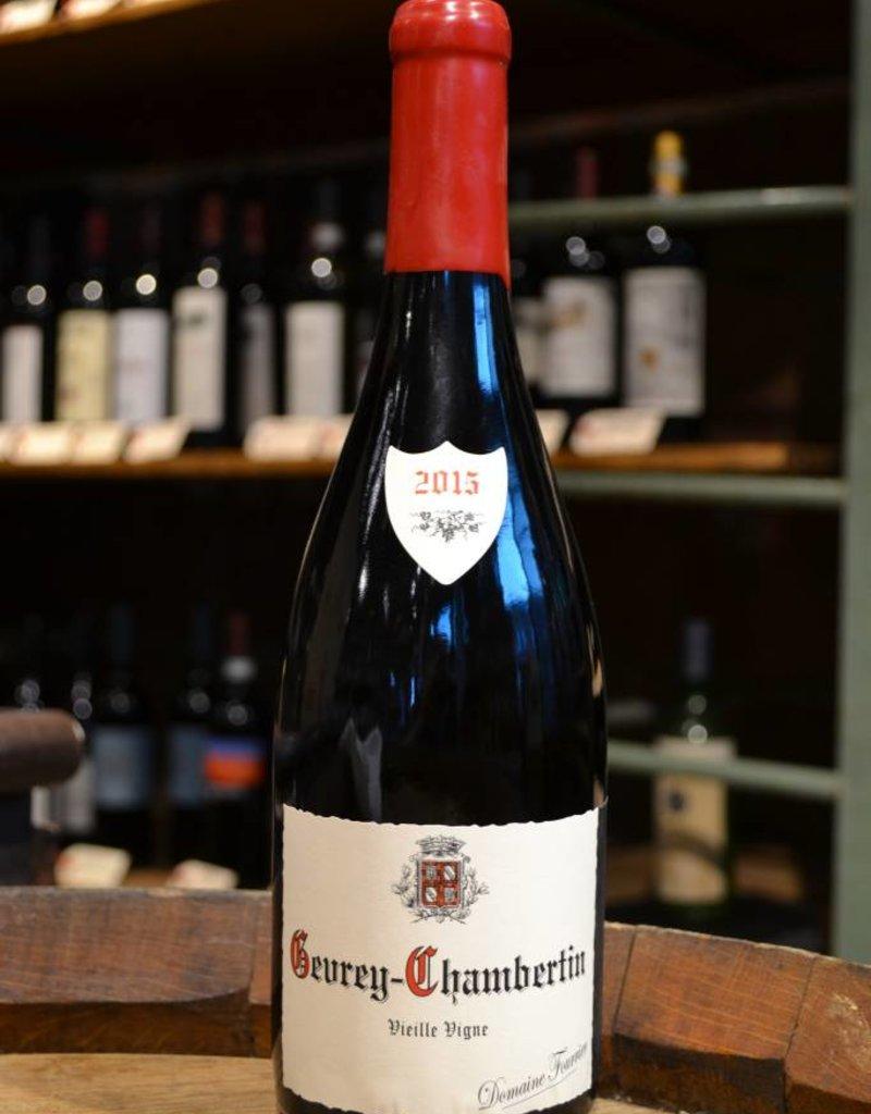 Domaine Fourrier Gevrey Chambertin Vieilles Vignes 2015