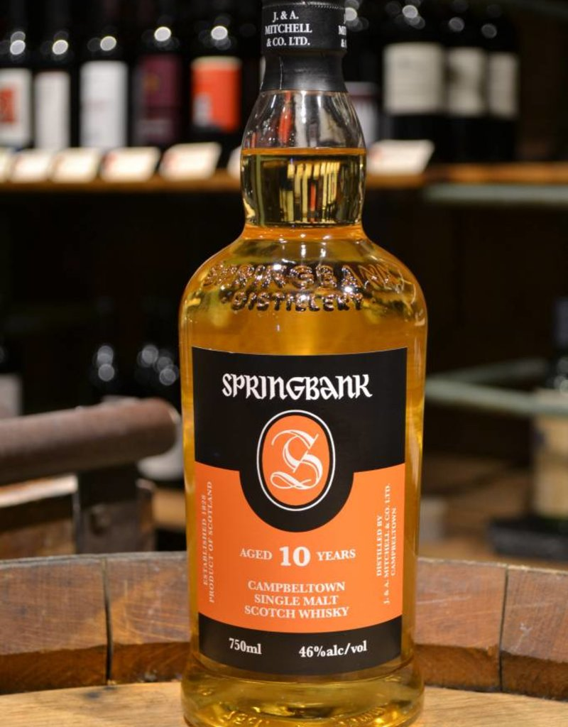 Springbank Cambeltown 10 year Single Malt Scotch Whisky