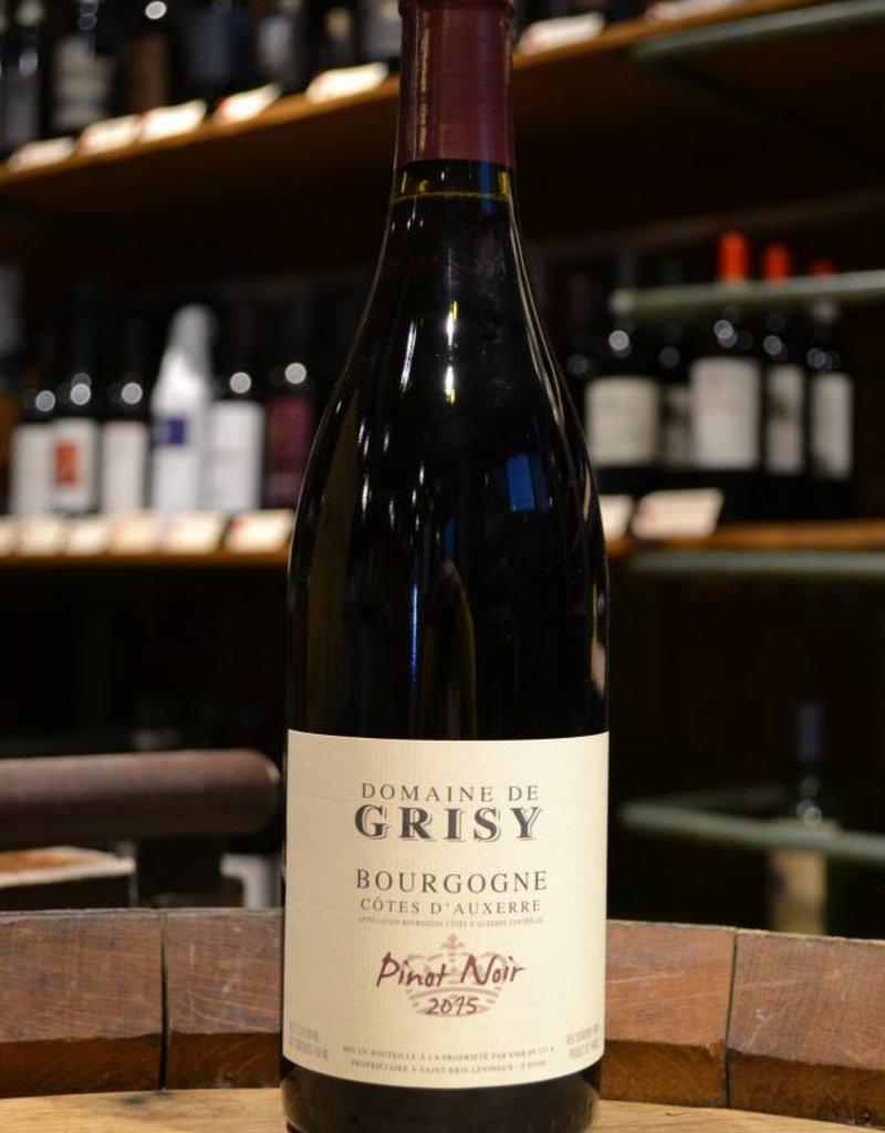 Domaine de Grisy Cotes D'Auxerre Pinot Noir 2015
