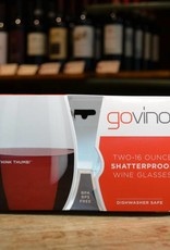 Govino dishwasher safe 16 ounce wine glasses 2 pack