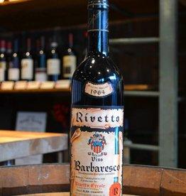 Vintage Ercole Rivetto Barbaresco Riserva Speciale 1964