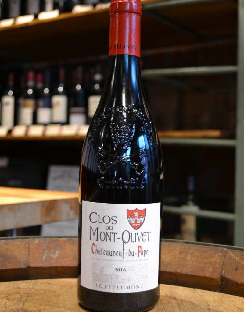 Clos du Mont Olivet Chateauneuf du Pape Le Petit Mont 2016